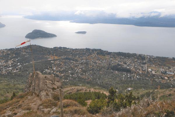 Bariloche - Vista do Cerro Otto